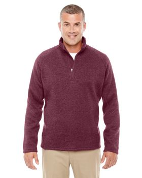 Devon & Jones DG792 Adult Bristol Sweater Fleece Quarter-Zip