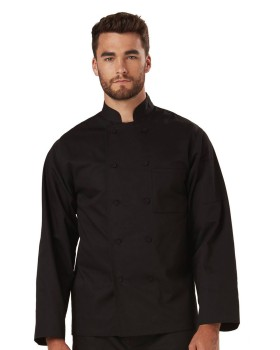 Dickies Chef DC43 Unisex Classic Knot Button Chef Coat