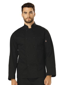 Dickies Chef DC44 Unisex Classic Cloth Covered Button Coat