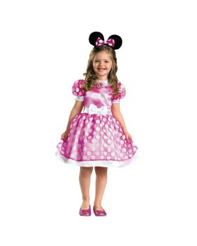 Disguise DG18921M Pink Minnie Mouse Class 3T-4T