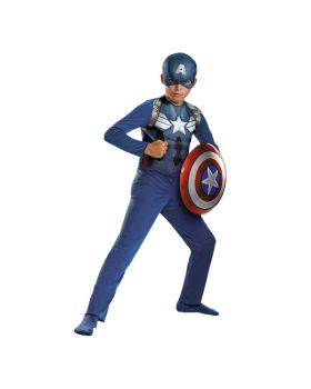 Disguise DG73360L Captain America Aveng Child Sm