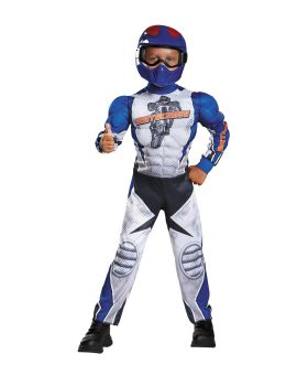 Disguise DG90768M Motorcycle Rider Tod Musc 3T4T