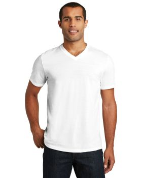District DT1350 Perfect Tri V Neck T-Shirt