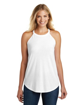 District DT137L Women's Perfect Tri Rocker Tank Top