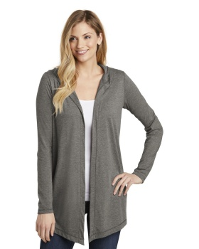 District DT156 Women's Perfect Tri Hooded Cardigan