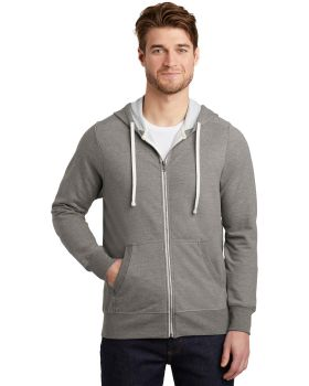 District DT356 Perfect Tri French Terry FullZip Hoodie