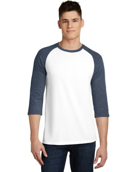 District DT6210 Very Important Tee 3/4 Sleeve Raglan