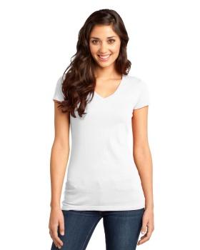 District DT6501 Juniors Very Important V Neck T-Shirt