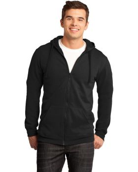 District DT800 Young Men's The Concert Fleece Full Zip Hoodie