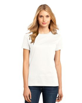 District Made DM104L Ladies Perfect Weight Crew T-Shirt