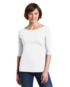 District Made DM107L Ladies Perfect Weight 3/4-Sleeve T-Shirt