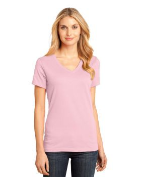 District Made DM1170L Ladies Perfect Weight V Neck T-Shirt