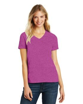District Made DM1190L Ladies Perfect Blend V Neck T-Shirt