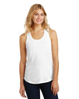 District Made DM138L Ladies Perfect Tri Racerback Tank Top