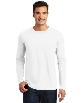 District Made DT105 Mens Perfect Weight Long Sleeve Tee