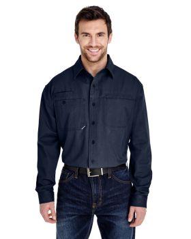 Dri Duck 4342 Men's Mason Long-Sleeve Workshirt
