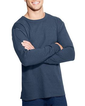 f35a11bb Duofold by Champion KMO1 Men's Originals Wool-Blend Thermal Shirt