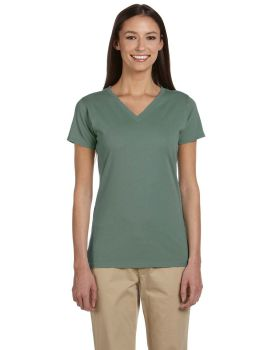 econscious EC3052 Ladies' Organic Cotton Short-Sleeve V-Neck T-Shirt