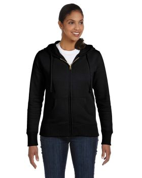 econscious EC4501 Ladies' Organic/Recycled Full-Zip Hood