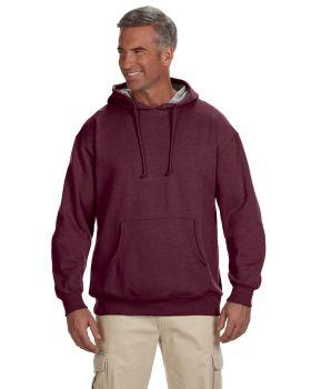 econscious EC5570 Adult Organic/Recycled Heathered Fleece Pullover Hood