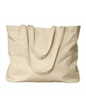 econscious EC8001 Organic Cotton Large Twill Tote