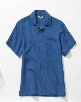 Edwards 1030 Jacquard Batiste Camp Tall Shirt