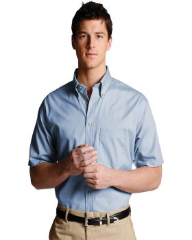 Edwards Garment Mens Long Sleeve Button Down Poplin Shirt/_DENIM BLUE/_XX-Large 35