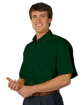 Edwards 1245 Men's Lightweight Short Sleeve Poplin Shirt