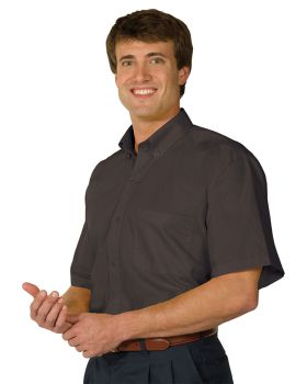 Edwards 1245 Men's Lightweight Short Sleeve Poplin Shirt