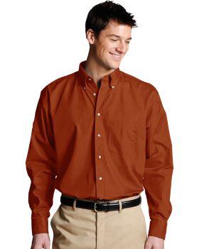 Edwards 1280 Men's Easy Care Long Sleeve Poplin Shirt