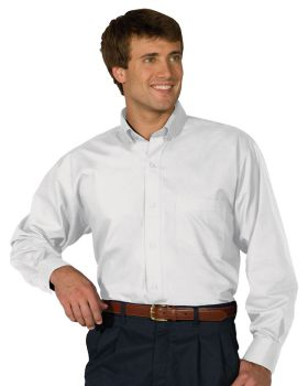 Edwards 1295 Men's Lightweight Long Sleeve Poplin Tall Shirt