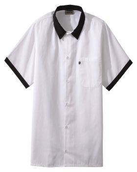 Edwards 1304 Button Front Shirt With Trim