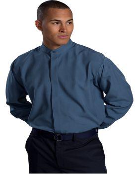 Edwards 1392 Men's Batiste Banded Collar Tall Shirt