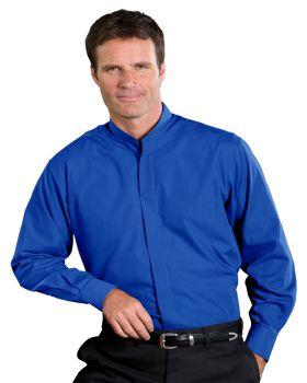 Edwards 1396 Men's Banded Collar Tall Shirt