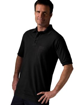 Edwards 1505 Blended Pique Short Sleeve With Pocket Polo Shirt