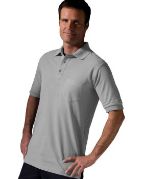Edwards 1505 Blended Pique Short Sleeve With Pocket Polo Shirt