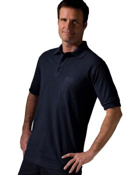 Edwards 1505 Blended Pique Short Sleeve Polo With Pocket
