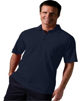 Edwards 1535 Cotton Pique Short Sleeve Polo With Pocket