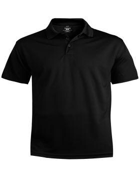 Edwards 1580 Men's Performance Flat-Knit Short Sleeve Polo Shirt