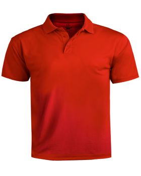 Edwards 1580 Men's Performance Flat-Knit Short Sleeve Polo