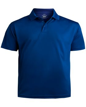 Edwards 1580 Men's Performance Flat-Knit Short Sleeve Polo Shirt