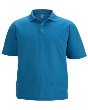 Edwards 1586 Men's Snap Front Hi-Performance Short Sleeve Polo