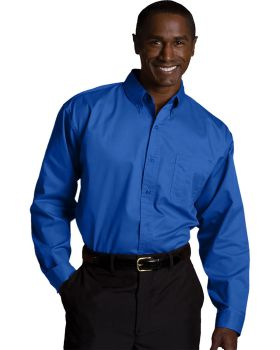 Edwards 1750 Men's Tall Cottonplus Long Sleeve Twill Shirt