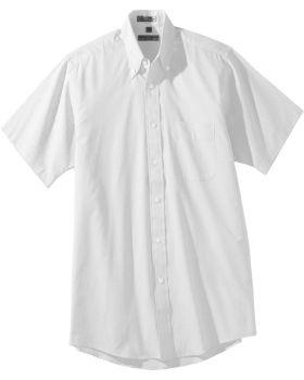 Edwards 1925 Men's Tall Pinpoint Oxford Shirt - Short Sleeve