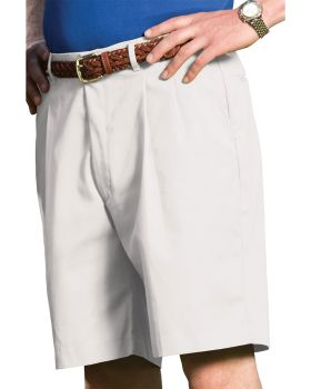 Edwards 2410 Men's Business Casual Pleated Chino Short