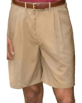 Edwards 2474 Men's Microfiber Pleated Front Short