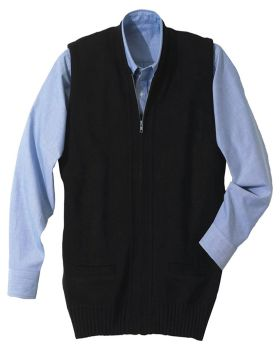 Edwards 302 Full-Zip Heavyweight Acrylic Sweater Vest