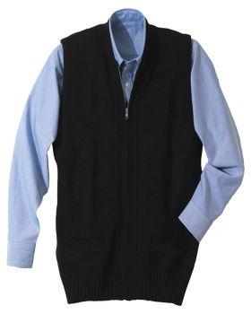 Edwards 302 Full Zip Heavyweight Acrylic Sweater Vest