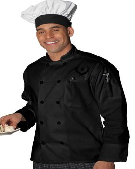 Edwards 3301 10 Button Long Sleeve Chef Coat