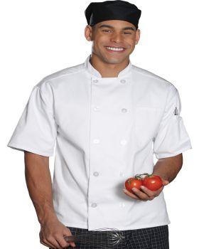Edwards 3306 10 Button Short Sleeve Chef Coat